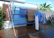 Maxi clothes airer dimensions